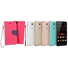 Manager dėklas Huawei Y5II mobiliesiems telefonams rožinės spalvos