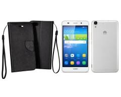 Manager dėklas Huawei Y6 mobiliesiems telefonams juodos spalvos