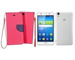 Manager dėklas Huawei Y6 mobiliesiems telefonams rožinės spalvos