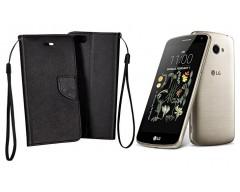 Manager dėklas LG K5 mobiliesiems telefonams juodos spalvos