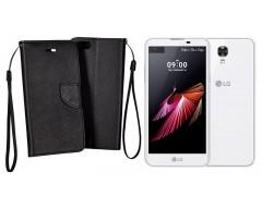 Manager dėklas LG X screen mobiliesiems telefonams juodos spalvos