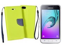 Manager dėklas Samsung Galaxy J1 (2016) mobiliesiems telefonams salotinės spalvos