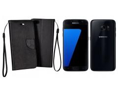 Manager dėklas Samsung Galaxy S7 mobiliesiems telefonams juodos spalvos