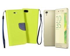 Manager dėklas Sony Xperia X mobiliesiems telefonams salotinės spalvos