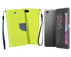 Manager dėklas Sony Xperia X Performance mobiliesiems telefonams salotinės spalvos