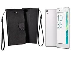 Manager dėklas Sony Xperia XA mobiliesiems telefonams juodos spalvos