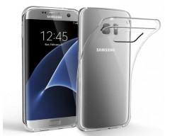 Skin silikoninis dėklas Samsung Galaxy S7 edge telefonams