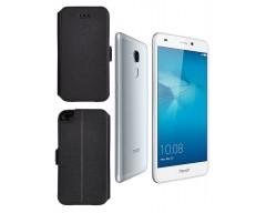 Slim Diary dėklas Huawei Honor 7 Lite mobiliesiems telefonams juodos spalvos