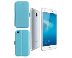 Slim Diary dėklas Huawei Honor 7 Lite mobiliesiems telefonams žydros spalvos