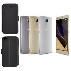 Slim Diary dėklas Huawei Honor 7 mobiliesiems telefonams juodos spalvos Kaunas | Šiauliai | Kaunas