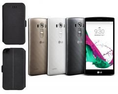 Slim Diary dėklas LG G4s mobiliesiems telefonams juodos spalvos
