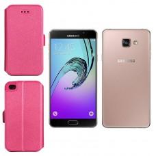 Slim Diary dėklas Samsung Galaxy A7 (2016) mobiliesiems telefonams rožinės spalvos Kaunas | Vilnius | Klaipėda