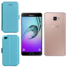 Slim Diary dėklas Samsung Galaxy A7 (2016) mobiliesiems telefonams žydros spalvos Kaunas   Šiauliai   Telšiai