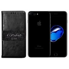 Gotamo D-gravity natūralios odos dėklas Apple iPhone 7 Plus 8 Plus mobiliesiems telefonams juodos spalvos Klaipėda | Vilnius | Šiauliai
