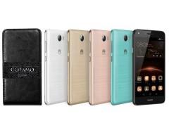 Gotamo I-gravity natūralios odos dėklas Huawei Y5II mobiliesiems telefonams