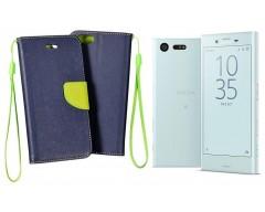 Manager dėklas Sony Xperia X Compact mobiliesiems telefonams mėlynos spalvos
