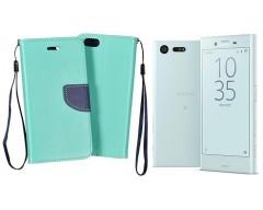 Manager dėklas Sony Xperia X Compact mobiliesiems telefonams mėtinės spalvos