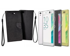 Manager dėklas Sony Xperia XA Ultra mobiliesiems telefonams juodos spalvos
