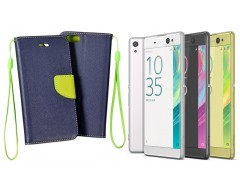 Manager dėklas Sony Xperia XA Ultra mobiliesiems telefonams mėlynos spalvos
