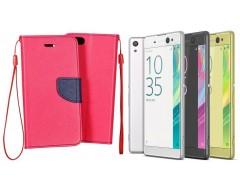 Manager dėklas Sony Xperia XA Ultra mobiliesiems telefonams rožinės spalvos