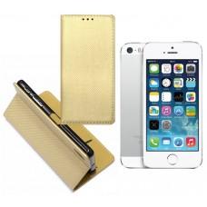 Re-Grid magnetinis dėklas Apple iPhone 5 5s SE mobiliesiems telefonams aukso spalvos Telšiai | Šiauliai | Plungė