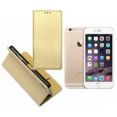 Re-Grid magnetinis dėklas Apple iPhone 6 6s mobiliesiems telefonams aukso spalvos