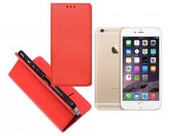 Re-Grid magnetinis dėklas Apple iPhone 6 6s mobiliesiems telefonams raudonos spalvos
