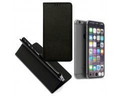 Re-Grid magnetinis dėklas Apple iPhone 7 8 SE (2020) mobiliesiems telefonams juodos spalvos