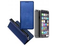 Re-Grid magnetinis dėklas Apple iPhone 7 8 SE (2020) mobiliesiems telefonams mėlynos spalvos