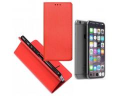 Re-Grid magnetinis dėklas Apple iPhone 7 8 SE (2020) mobiliesiems telefonams raudonos spalvos