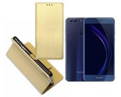 Re-Grid magnetinis dėklas Huawei Honor 8 mobiliesiems telefonams aukso spalvos