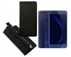 Re-Grid magnetinis dėklas Huawei Honor 8 mobiliesiems telefonams juodos spalvos