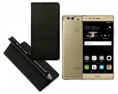 Re-Grid magnetinis dėklas Huawei P9 Plus mobiliesiems telefonams juodos spalvos