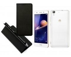 Re-Grid magnetinis dėklas Huawei Y6II mobiliesiems telefonams juodos spalvos