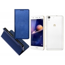 Re-Grid magnetinis dėklas Huawei Y6II mobiliesiems telefonams mėlynos spalvos