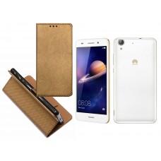 Re-Grid magnetinis dėklas Huawei Y6II mobiliesiems telefonams vario spalvos