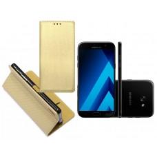 Re-Grid magnetinis dėklas Samsung Galaxy A7 (2017) mobiliesiems telefonams aukso spalvos Šiauliai | Klaipėda | Palanga