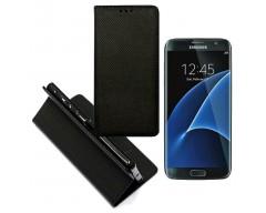 Re-Grid magnetinis dėklas Samsung Galaxy S7 edge mobiliesiems telefonams juodos spalvos