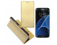 Re-Grid magnetinis dėklas Samsung Galaxy S7 mobiliesiems telefonams aukso spalvos