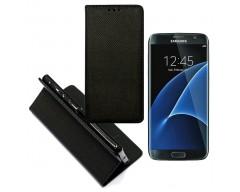 Re-Grid magnetinis dėklas Samsung Galaxy S7 mobiliesiems telefonams juodos spalvos