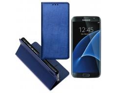 Re-Grid magnetinis dėklas Samsung Galaxy S7 mobiliesiems telefonams mėlynos spalvos