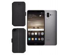 Slim Diary dėklas Huawei Mate 9 mobiliesiems telefonams juodos spalvos