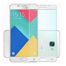 Apsauga ekranui gaubtas grūdintas stiklas Samsung Galaxy A5 (2016) mobiliesiems telefonams baltos spalvos Vilnius | Klaipėda | Plungė