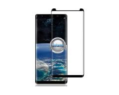 Apsauga ekranui gaubtas grūdintas stiklas Samsung Galaxy Note 8 mobiliesiems telefonams siauresnis juodos spalvos