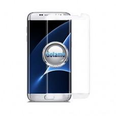 Apsauga ekranui gaubtas grūdintas stiklas Samsung Galaxy S7 edge mobiliesiems telefonams siauresnis baltos spalvos Vilnius | Vilnius | Klaipėda