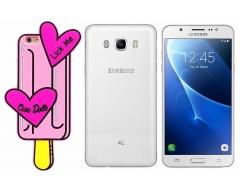 Ausys Lick Me silikoninis dėklas Samsung Galaxy J5 (2016) mobiliesiems telefonams
