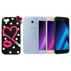 Ausys Valentine silikoninis dėklas Samsung Galaxy A5 (2017) mobiliesiems telefonams Plungė | Plungė | Plungė