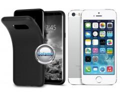 B-matte dėklas nugarėlė Apple iPhone 5 5s SE mobiliesiems telefonams juodos spalvos