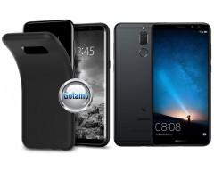 B-matte dėklas nugarėlė Huawei Mate 10 Lite mobiliesiems telefonams juodos spalvos