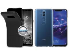 B-matte dėklas nugarėlė Huawei Mate 20 Lite mobiliesiems telefonams juodos spalvos